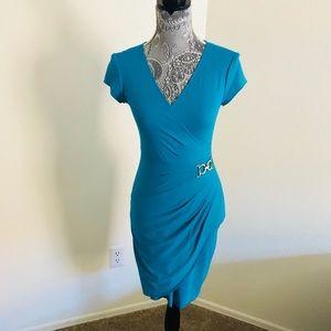 Gorgeous Cache blue office dress S